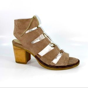 Bos. & Co. Brooke Strappy Leather Heel Sandals 37